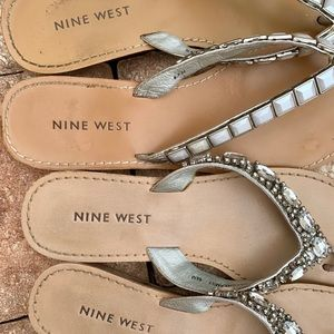 "Nine West Shoes - Nine West ""Nothin'But the Bling"" Sandals 6.5"